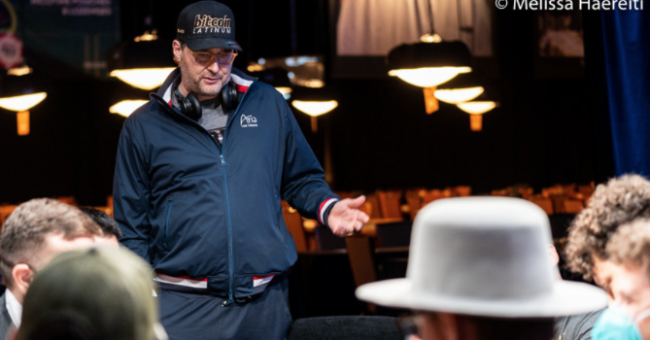 Phil Hellmuth Courtesy Pokernews $ Melissa Haereiti