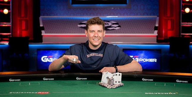 Ari Engel (courtesy of Danny Maxwell - Pokernews)