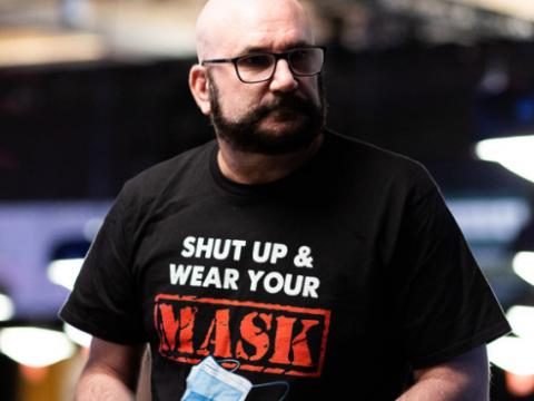 Mike Matusow (courtesy of Alec Rome - Pokernews)