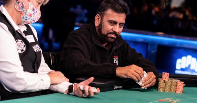 Jesse Lally Courtesy PokerNews & Melissa Haereiti